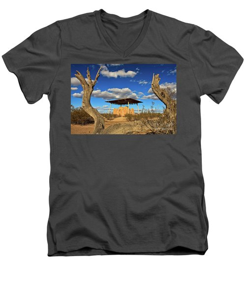Casa Grande Ruins National Monument Men's V-Neck T-Shirt