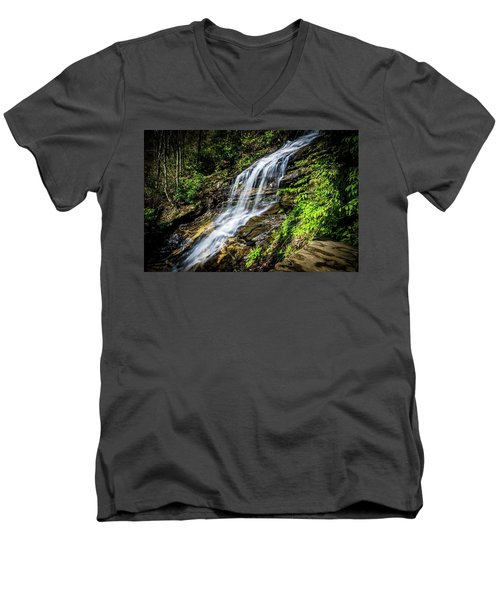 Cascade Falls Men's V-Neck T-Shirt