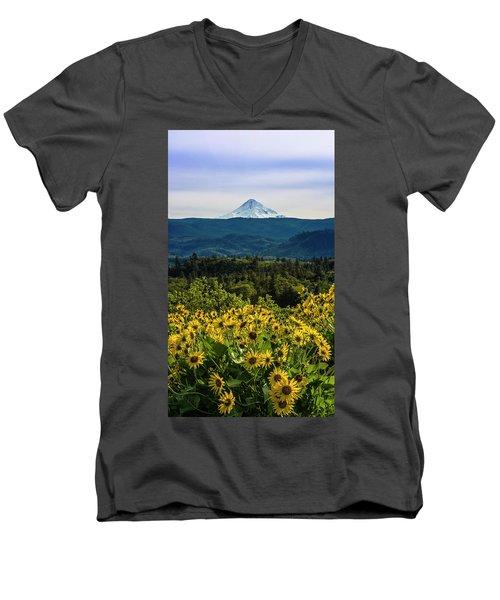 Cascade Spring Men's V-Neck T-Shirt