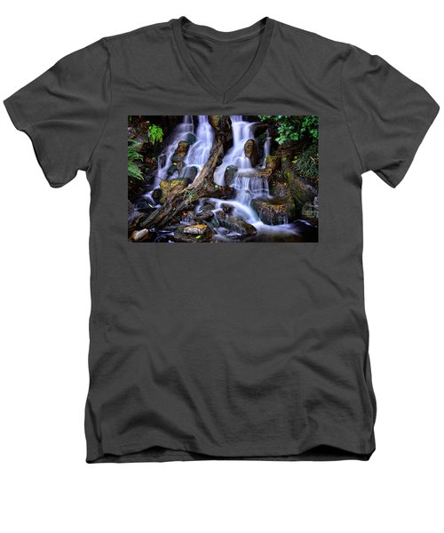 Cascades Men's V-Neck T-Shirt