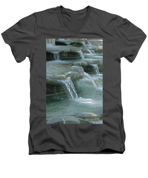 Cascading Fountain Men's V-Neck T-Shirt
