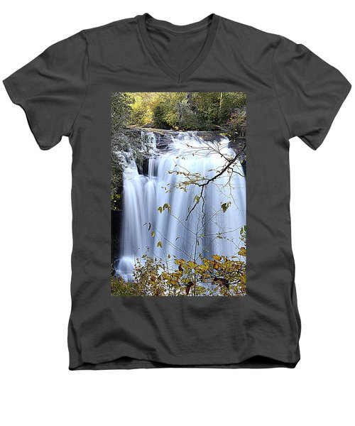 Cascading Water Fall Men's V-Neck T-Shirt