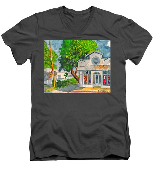 Caseys Place Men's V-Neck T-Shirt