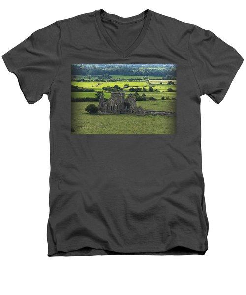 Cashel Hore Abbey Men's V-Neck T-Shirt