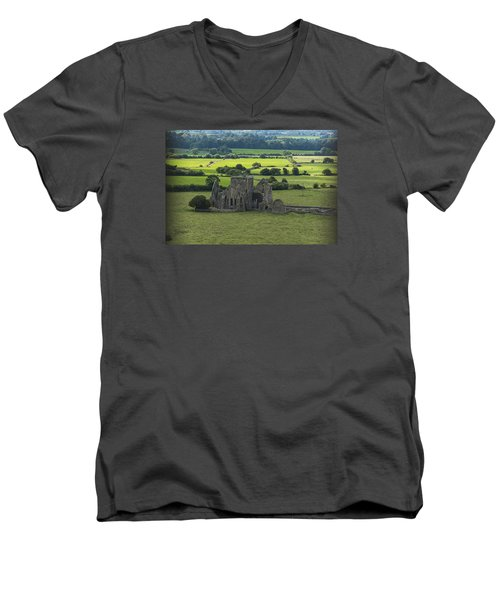 Cashel Hore Abbey Men's V-Neck T-Shirt