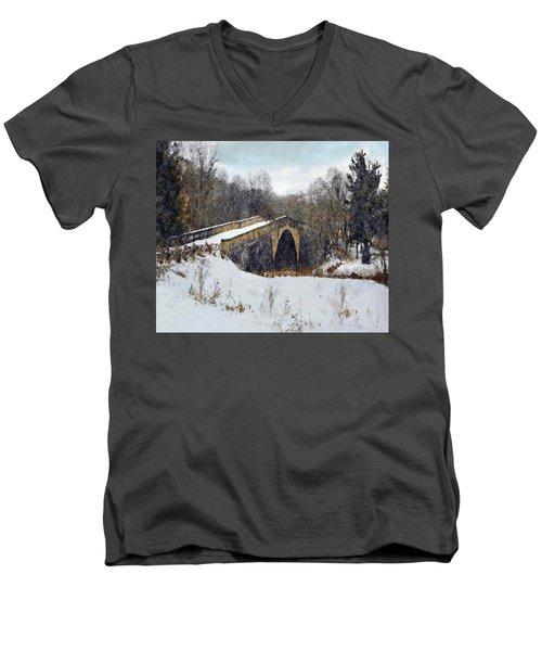 Casselman River Bridge Men's V-Neck T-Shirt