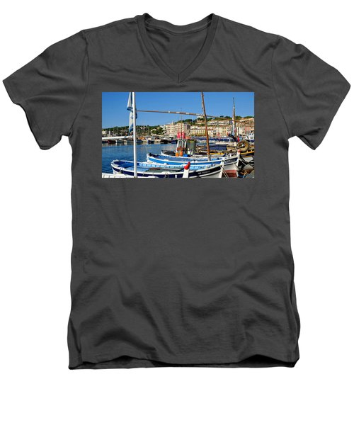 Cassis Harbor Men's V-Neck T-Shirt