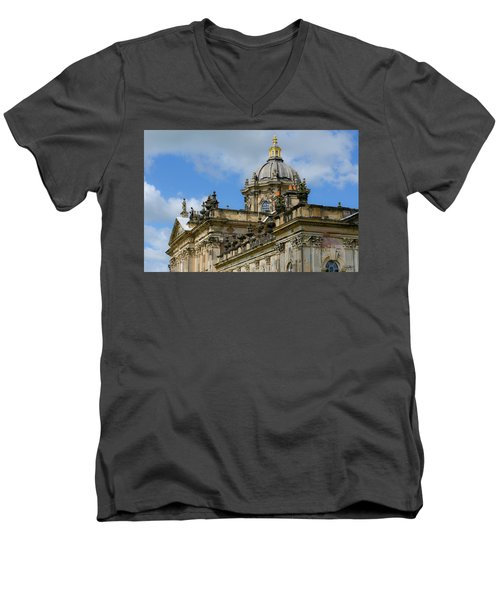Castle Howard Roofline Men's V-Neck T-Shirt
