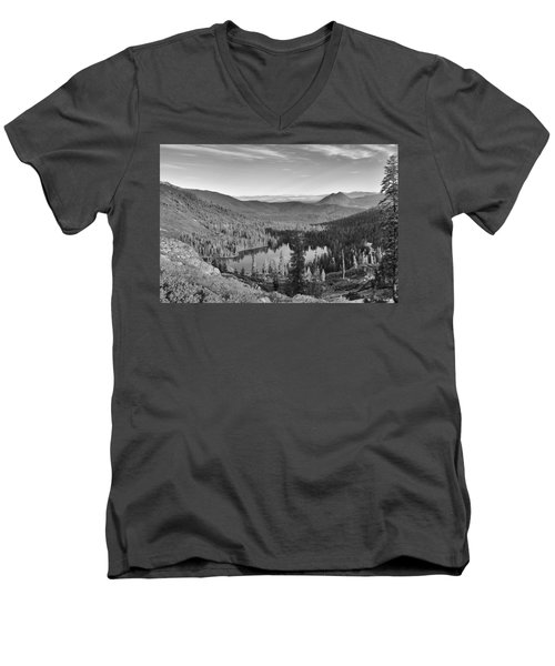 Castle Lake Men's V-Neck T-Shirt