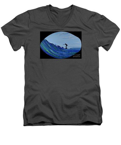Catch A Wave Men's V-Neck T-Shirt