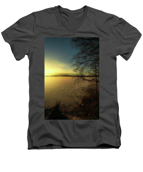 Catch The Light Men's V-Neck T-Shirt by Rose-Marie Karlsen