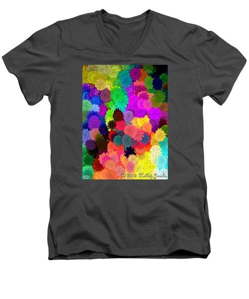 Catcha Little Groove Men's V-Neck T-Shirt