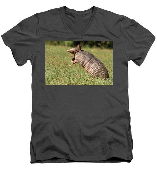 Catching A Scent Men's V-Neck T-Shirt
