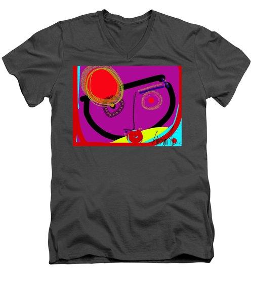 Catching The Redeye Men's V-Neck T-Shirt