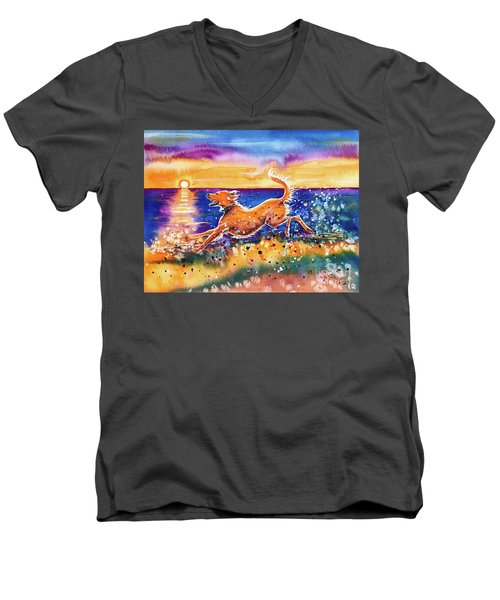 Catching The Sun Men's V-Neck T-Shirt