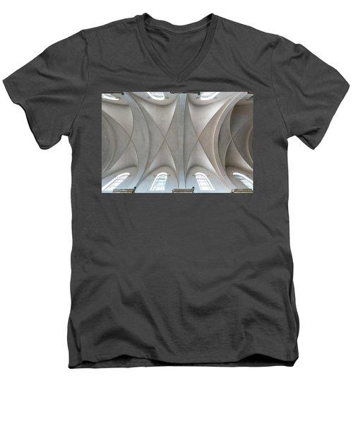 Catedral De La Purisima Concepcion Ceiling Men's V-Neck T-Shirt