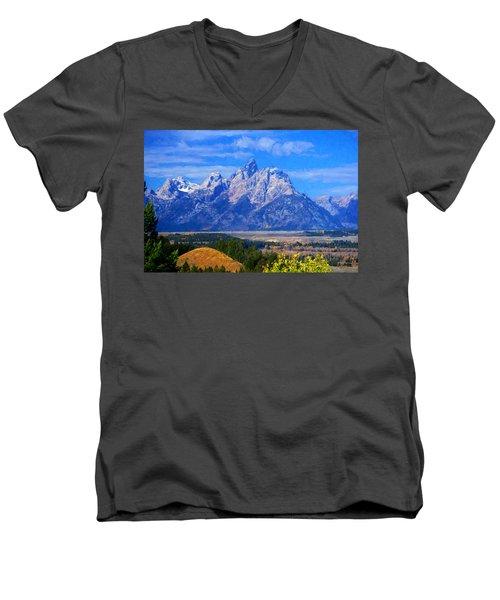 Cathedral Group Impressions Men's V-Neck T-Shirt