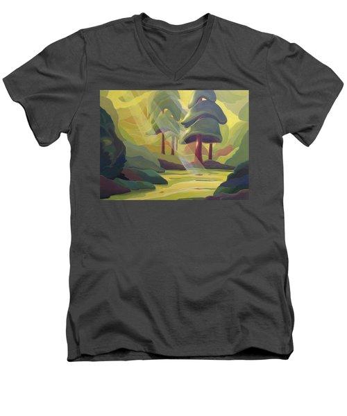 Cathedral Light Men's V-Neck T-Shirt
