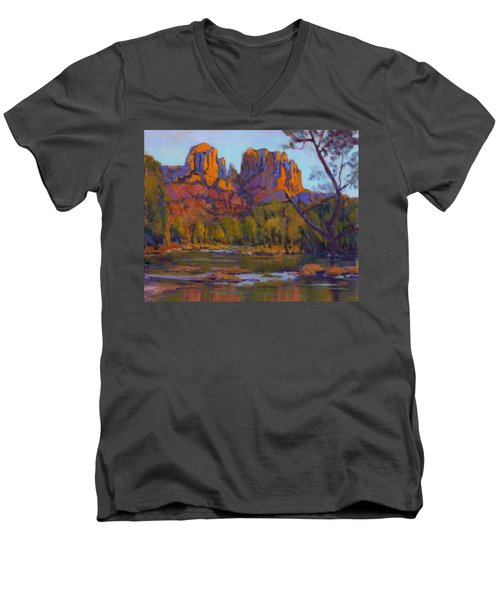 Cathedral Rock 2 Men's V-Neck T-Shirt