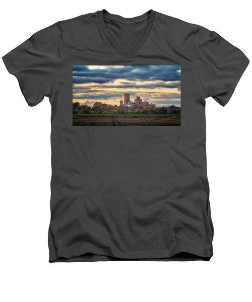Cathedral Sunset Men's V-Neck T-Shirt