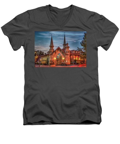 Catholic Church Of St. Ann Men's V-Neck T-Shirt