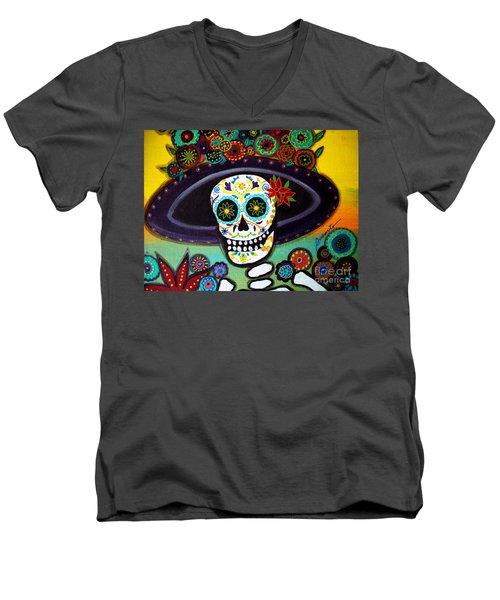 Catrina Men's V-Neck T-Shirt
