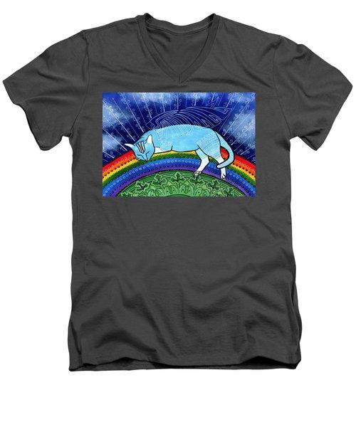 Cats Sleep Anywhere Men's V-Neck T-Shirt