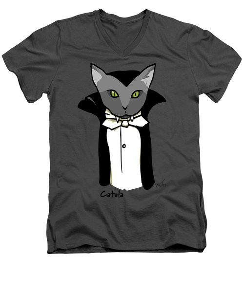 Catula Men's V-Neck T-Shirt
