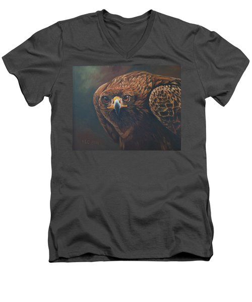 Caught In Sight Men's V-Neck T-Shirt