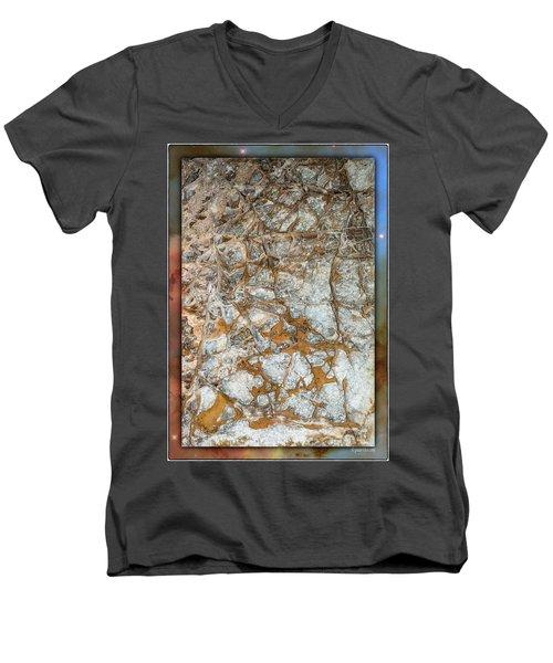 Cave Abstraction.... Men's V-Neck T-Shirt