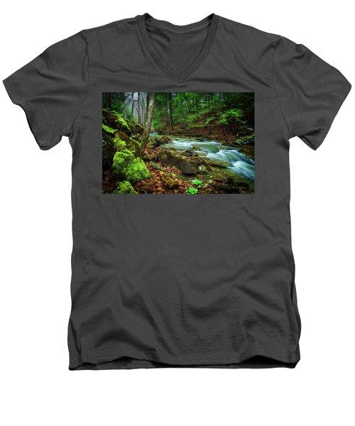 Cave Branch #15 Men's V-Neck T-Shirt