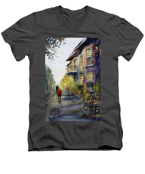 Cedarburg Shadows Men's V-Neck T-Shirt