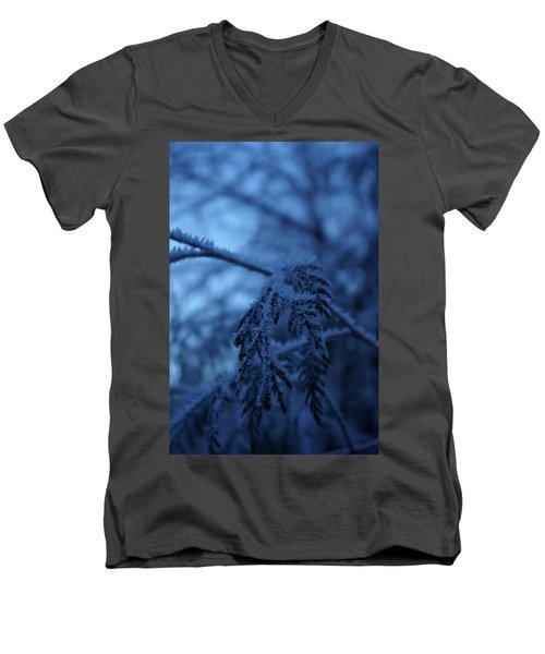Cedars Of Ice II Men's V-Neck T-Shirt