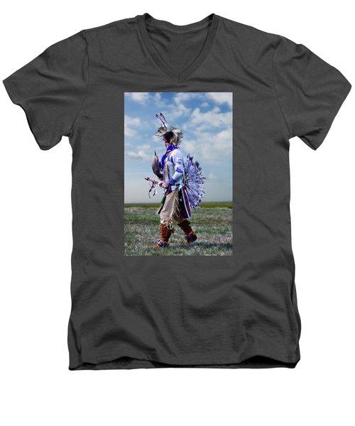Celebrate The Dance Men's V-Neck T-Shirt