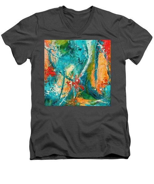 Celestial Choir No 1 Men's V-Neck T-Shirt
