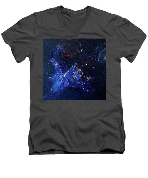 Celestial Harmony Men's V-Neck T-Shirt