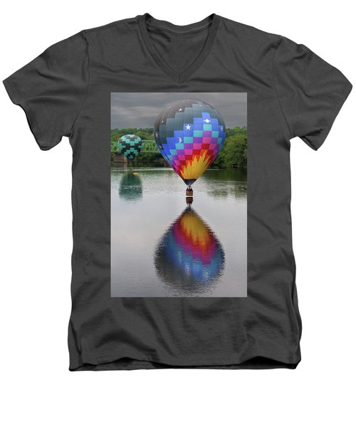 Celestial Reflections Men's V-Neck T-Shirt