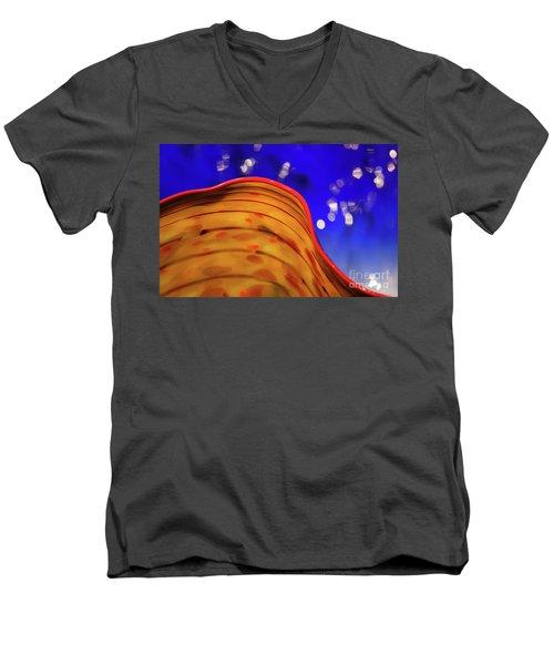 Celestial Wave Men's V-Neck T-Shirt
