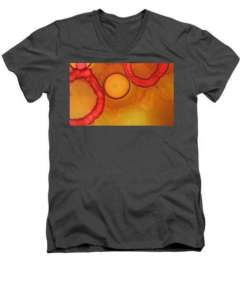 Cell# 2 Men's V-Neck T-Shirt