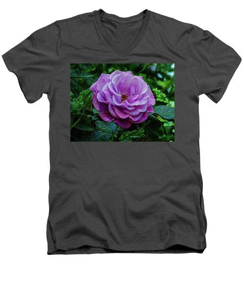 Cell De-vision Men's V-Neck T-Shirt