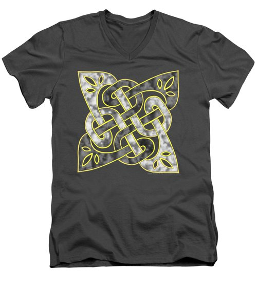 Celtic Dark Sigil Men's V-Neck T-Shirt