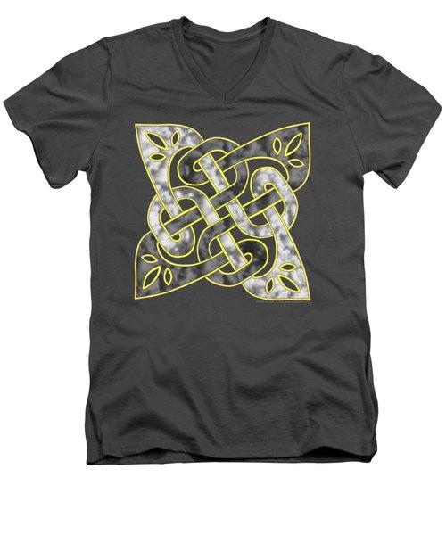 Celtic Dark Sigil Men's V-Neck T-Shirt