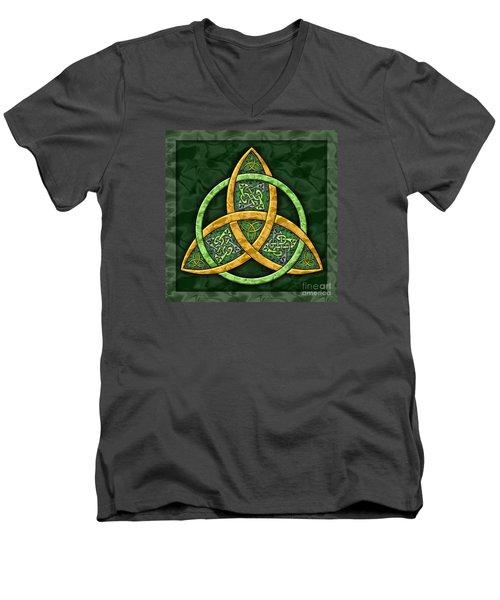 Celtic Trinity Knot Men's V-Neck T-Shirt