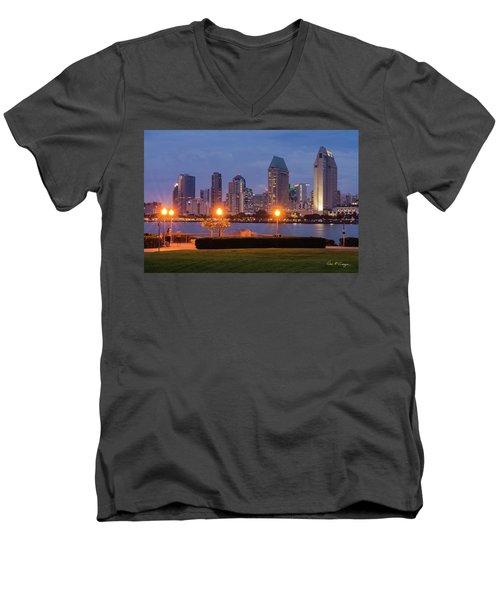 Centennial Sight Men's V-Neck T-Shirt