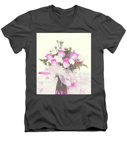 Centerpiece Men's V-Neck T-Shirt