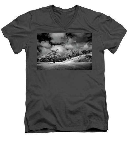 Central California Ranch Men's V-Neck T-Shirt by Sean Foster
