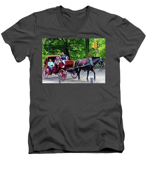 Central Park 5 Men's V-Neck T-Shirt