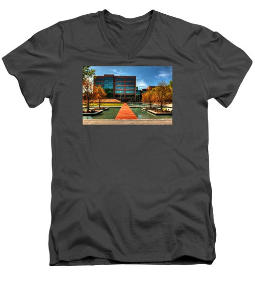 Centurylink Corporate Headquarters Men's V-Neck T-Shirt