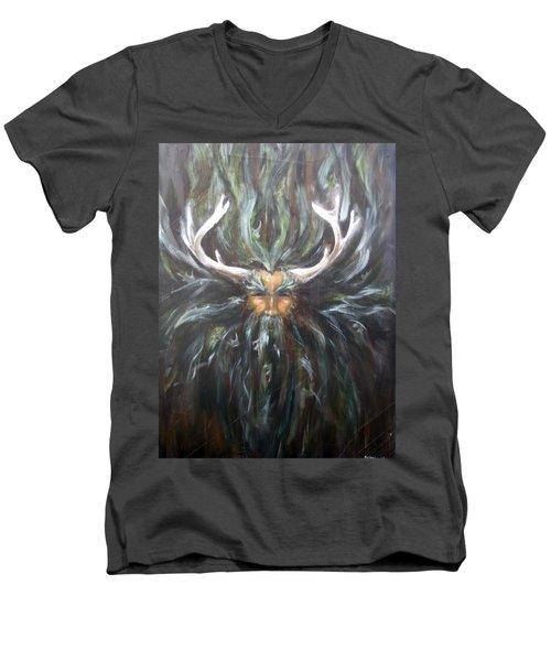 Cernunnos Men's V-Neck T-Shirt