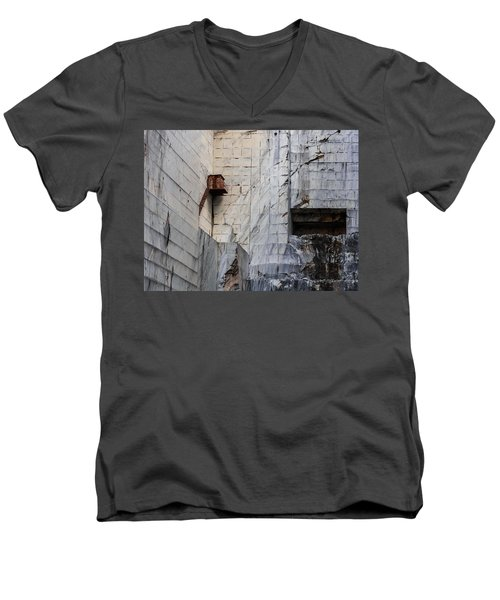 Cervaiole Quarry - Apuan Alps, Tuscany Italy Men's V-Neck T-Shirt